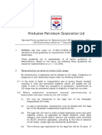 Dealership Reconstitution Policy