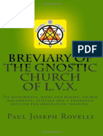 Paul Joseph Rovelli - Breviary of the Gnostic Church of LVX