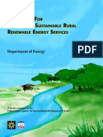 Guidebook for Developing Sustainanble Rural Renewable Energy Services