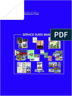 Service Guide Manual DOE