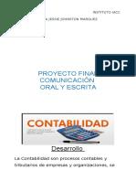 Proyecto Final Comunicacionoralyescrito