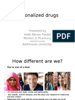 Personalized Drugs 1
