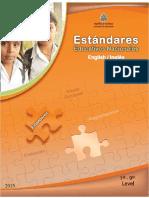 Estándares Educativos Nacionales Ingles I, II y III Ciclo (1-9 Grado) Honduras