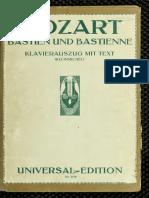 Bastian y Bastiana, Mozart 2