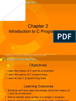 Chapter 2-Introduction to C