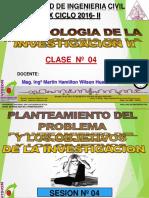 CLASE 04 2016 II Formulacion Del Problema Final