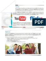 Youtube y Flickr