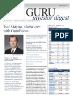 Guru Investor Digest Tom Gayner