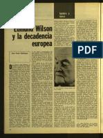 Edmund Wilson y la decadencia de Europa 16g31 Destino. Año 1975, No. 1988-1991 (Noviembre)