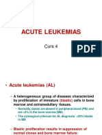 Curs 4 - Leucemiile Acute