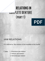 Jaw Relations