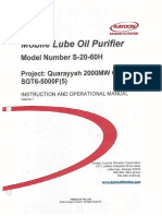 Mobile Lube Oil Purifier