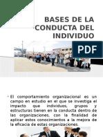 Bases de La Conducta Del Individuo