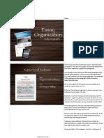 Essay Organization