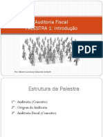Palestra 1 - Auditoria Fiscal
