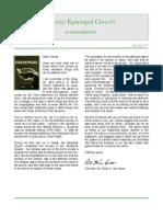 Trinity Newsletter.spring2010