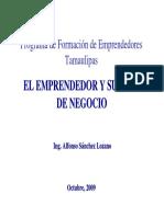 El Emprendedor y Su Plan de Negocio