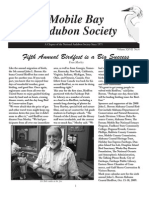 Winter 2008 Mobile Bay Audubon Society Newsletters