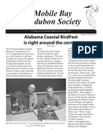 Fall 2008 Mobile Bay Audubon Society Newsletters