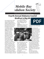 Spring 2008  Mobile Bay Audubon Society Newsletters