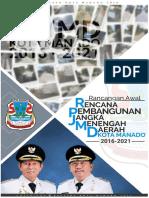 Draf Awal RPJMD Kota Manado