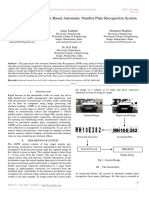 Artificial Neural Network Based Automatic Number Plate Recognition System