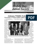 Fall 2006 Mobile Bay Audubon Society Newsletters