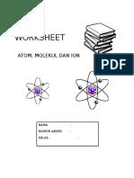 Sampul Worksheet