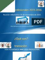 Prácticas Profesionales 2015-2016