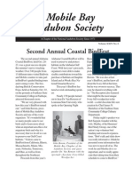 November-December 2005 Mobile Bay Audubon Society Newsletters