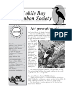 May-June 2005 Mobile Bay Audubon Society Newsletters
