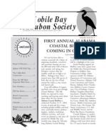 March-April 2004 Mobile Bay Audubon Society Newsletters
