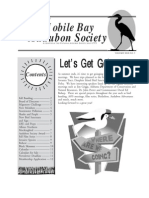 September-October 2003 Mobile Bay Audubon Society Newsletters