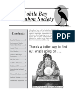 July-August 2003 Mobile Bay Audubon Society Newsletters