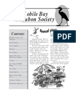 May-June 2003 Mobile Bay Audubon Society Newsletters