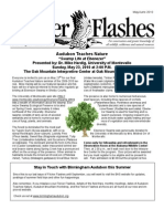 May-June  2010 Flicker Flashes Birmingham Audubon Society Newsletter
