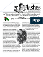 November-December 2009 Flicker Flashes Birmingham Audubon Society Newsletter