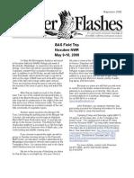 May 2008 Flicker Flashes Birmingham Audubon Society Newsletter
