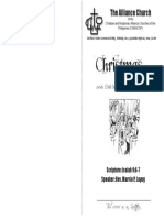 ACF Christmas Program F