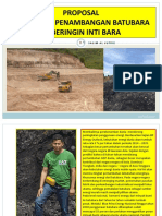 Proposal Kerjasama Penambangan Batubara PT Beringin Inti Bara