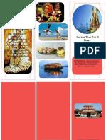 Kerala Tour English Brochure (I)