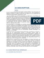 Memoria Descriptiva Pumahuasi