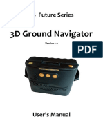 3D Gold Detector Ground Navigator