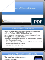 Elements of Material Design