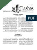 May 2007 Flicker Flashes Birmingham Audubon Society Newsletter