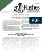 February 2006 Flicker Flashes Birmingham Audubon Society Newsletter