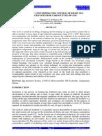 imranFull Paper Development and Temperature Control of Smart Egg Incubator