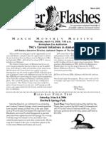 March 2006 Flicker Flashes Birmingham Audubon Society Newsletter