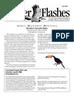 April 2006 Flicker Flashes Birmingham Audubon Society Newsletter
