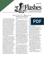 September 2006 Flicker Flashes Birmingham Audubon Society Newsletter